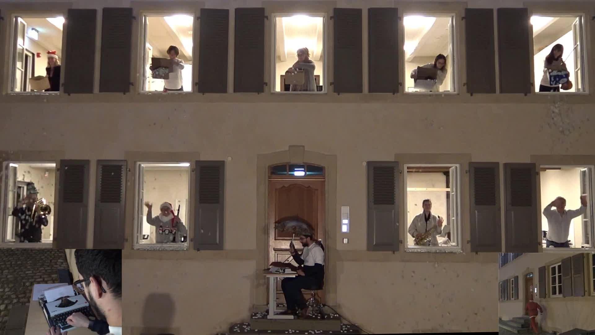 """Santa is coming"" - Clip vidéo Ecole de Musique Fentange"