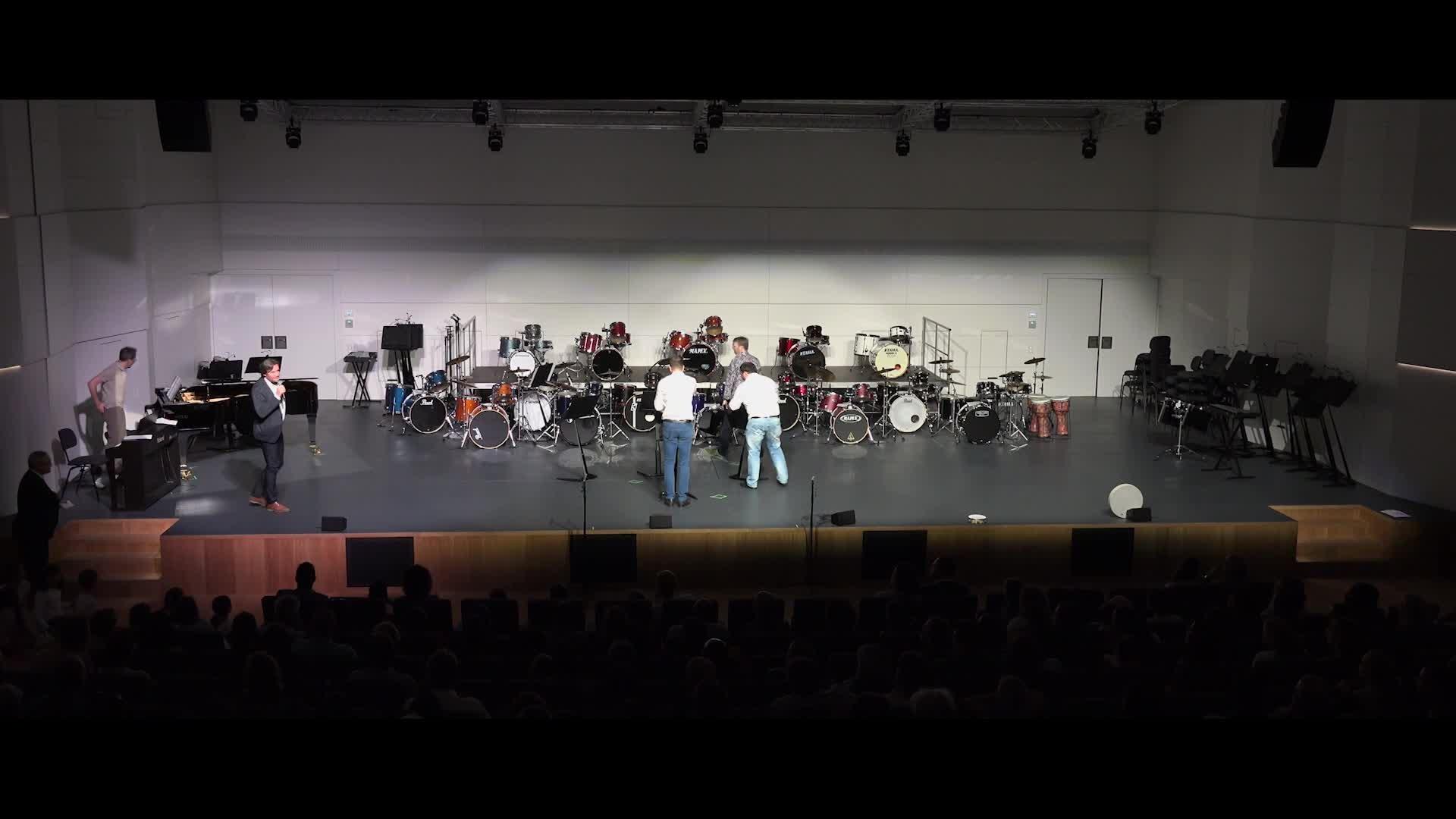 Audition Ecole de musique Hesperange - Discours, 07.07.2019