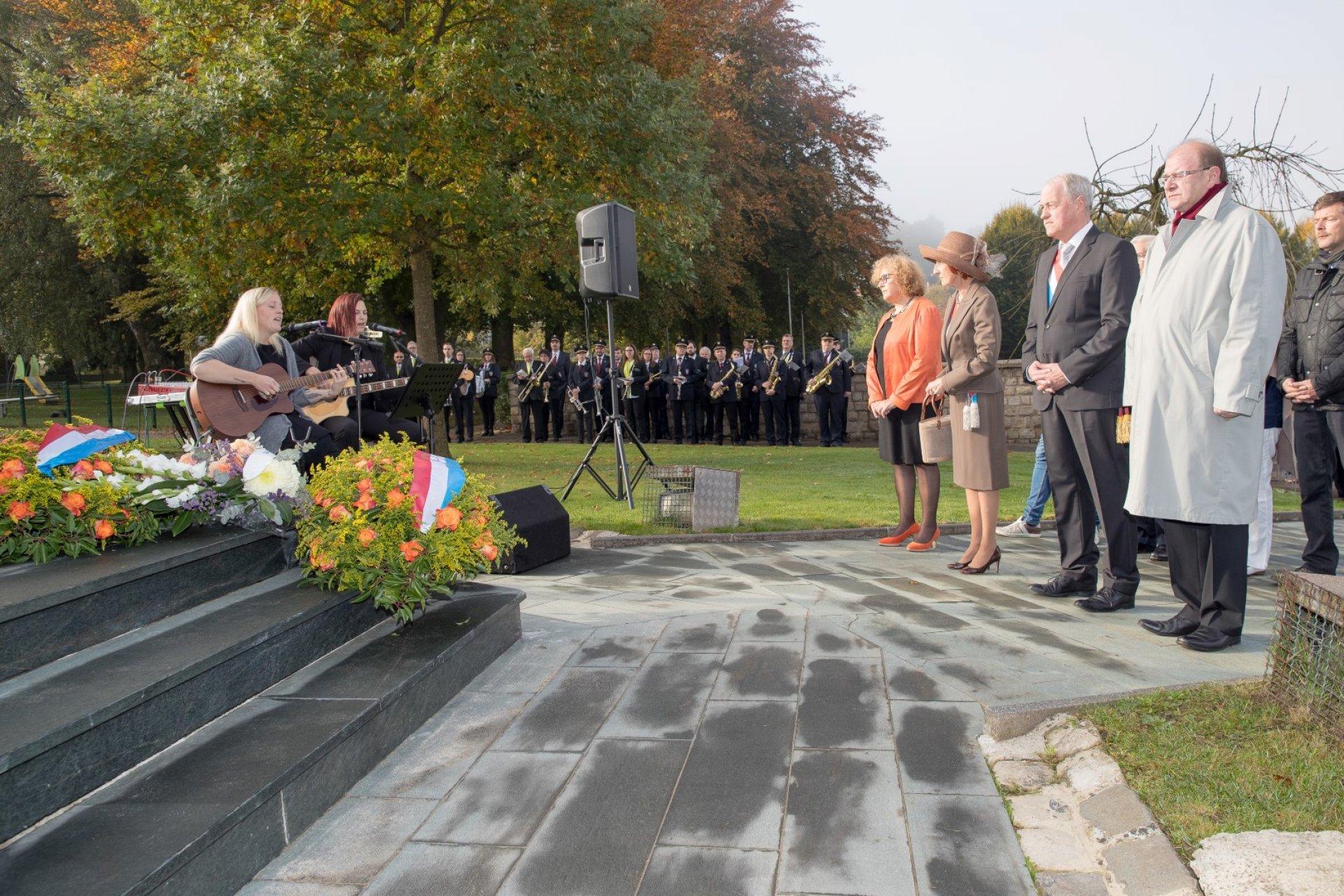 Journée de la Commémoration Nationale à Lamadelaine