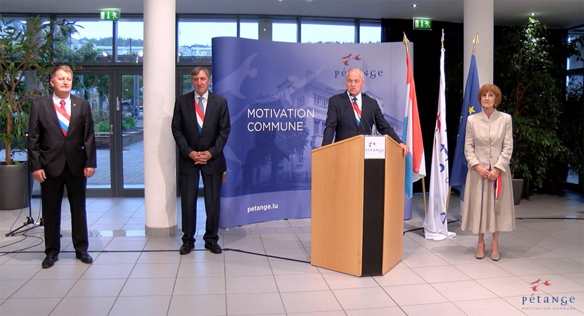 Lëtzebuerger Nationalfeierdag 2020 (Offiziell Usprooch vum Péitenger Buergermeeschter)